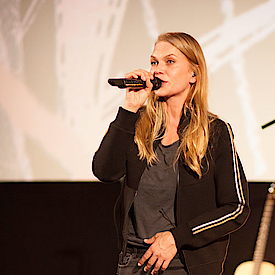 Anna Loos, Frontsängerin der deutschen Rock/Pop Band Silly